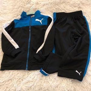 Puma sport life style set for 24M old boys